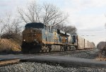 CSX 5367 and train Q217